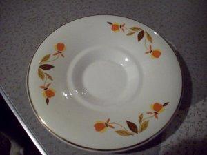 Vintage Superior Hall Quality Dinnerware Saucer