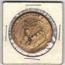 Dakota Territory Centennial 1861-1961 Brass Token
