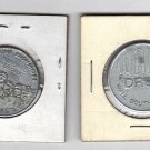 Lot of 2 Vintage South Dakota Tokens
