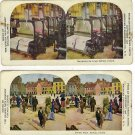 Lot of Six Antique Stereoscope Cards Issued by The Quaker Oats Company