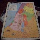 1961 The Graded Press Map of Palestine in Jesus' Day