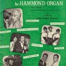 TV Favorites for Hammond Organ
