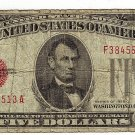1928C $5 Red Seal Note