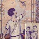 Vintage Sheet Music  Follow The Swallow