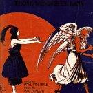 Vintage Sheet Music  Bring Back