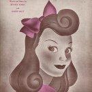Vintage Sheet Music  Baby Face