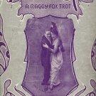 Vintage Sheet Music  Silver Fox A Raggy Fox Trot