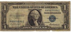 1935F $1 Silver Certificate