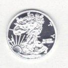 1 Gram 2000 Silver Eagle Round  .999 Fine Silver free shipping