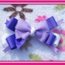 Large Purpple Hairbow
