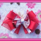 Red Heart Hairbow