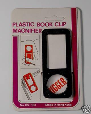 VINTAGE PLASTIC BOOK PAGE READER MAGNIFIER VINTAGE