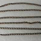 VTG Brass Silver Metal Chain Guard Extender Safety Clasp Catch Jewelry Making 6