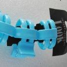 International Look Blue Hair Claw Hair Clip New on Card