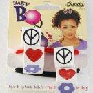 Goody Baby Bo Bo's Pair Hair Elastic Hair Accessories 1997 NOC