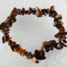 Gorgeous Tigers Eye STone Gem Stretchy Elastic Bracelet Jewelry