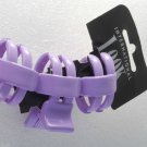 International Look Purple Hair Claw Hair Clip New on Card