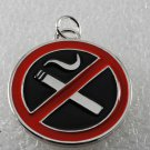 VintageTraditional Round Collectible No Smoking Pendant Jewelry  Necklace Making