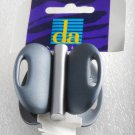 1999 Delsol Made in France Blue Plastic Hair Claw Clip Barrette