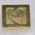 Vintage Gold Plated Brass Kodak Pin