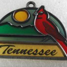 Vintage Suncatcher Acrylic Plastic Metal Decoration Plaque Tennessee Made in USA