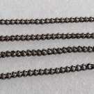Gunmetal Chain Connector Collar Sew On Jewelry Making Accessorie Set of 4