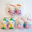 HELLO KITTY with Ethnic Costume Earrings - Choose Style