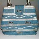 Vintage Denim Purse Shoulder Bag by Marlo Handbags