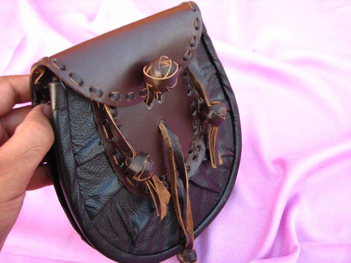 Kilt makers - Leather Sporran-tartans Sporrans