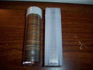 Two 2 Mixed Roll of Wheat Cents pennys