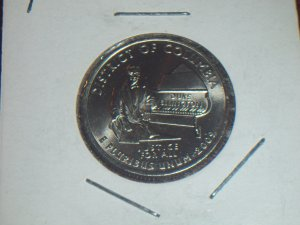 District of Columbia 2009-P Uncirculated MS BU Quarter