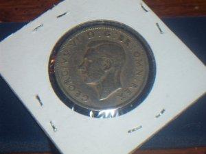 1948 Great Britian Two shilling British