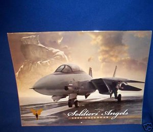 COLLECTIBLE SOLDIER'S ANGELS CALENDAR-2008- US IN IRAQ