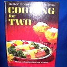BETTER HOMES & GARDENS COOKING FOR TWO RECIPE BOOK