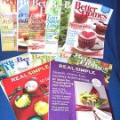 11 BETTER HOMES & GARDENS MAGAZINES+2REAL SIMPLE