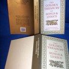 GOLDEN TREASURY OF SONGS & LYRICS, HARDCOVER POETRY