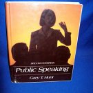 PUBLIC SPEAKING HC by GARY HUNT