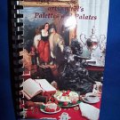 ART CENTRAL PALETTES & PALATES RECIPE COOKBOOK-CARTHAGE