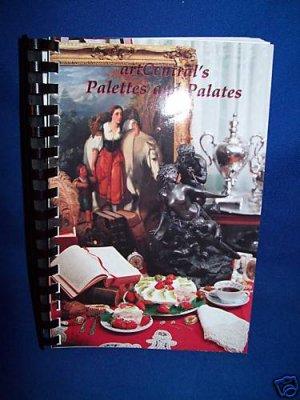 ART CENTRAL PALETTES & PALATES RECIPE COOKBOOK-CARTHAGE