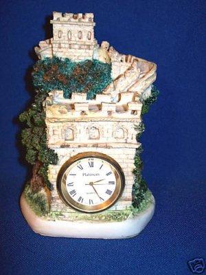 PRETTY FANTASY CASTLE QUARTZ CLOCK - GIFT QUALITY