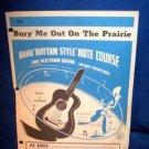 VINTAGE OAHU GUITAR RHYTHM STYLE NOTE COURSE, 1968