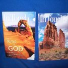 2 VINTAGE IN TOUCH MINISTRIES MAGAZINES-CHARLES STANLEY