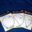 24 NEW CHRISTENING INVITATIONS WITH ENVLP-LAMB, FLOWERS