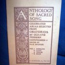 ANTHOLOGY OF SACRED SONG  MUSICBOOK,BASS VOCALS & PIANO