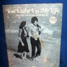 YOU LIGHT UP MY LIFE, MOVIE SOUVENIR MUSIC SONGBOOK