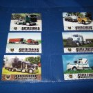 6 CAT SCALE SUPER TRUCKS COLLECTOR CARDS - LIMITED EDITION  (LOT 9)