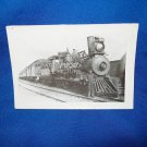 VINTAGE TRAIN ENGINE PHOTO  - ST L & S F 51