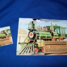LIMITED EDITION TRAIN TRAIN ENGINE CALENDAR - 2010