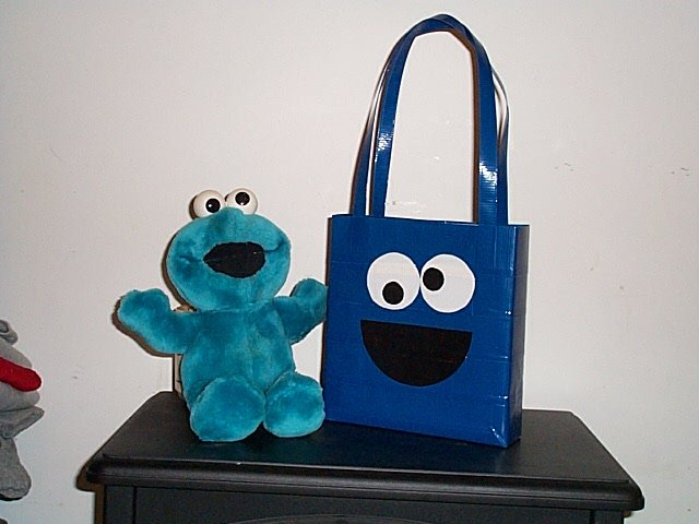 Cookie Monster Lunch Tote bag