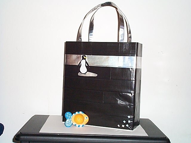 Penquin Tote Bag